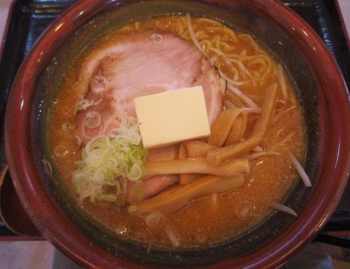 味噌バターらーめん(¥800)