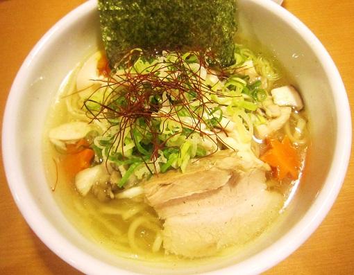 塩らーめん秋味(¥780)