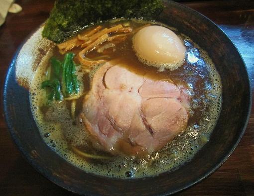 焦がし煮干らーめん(¥700)