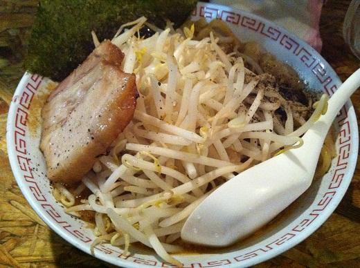 男そば(¥850)