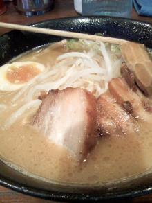 ソラトブ ドンブリ-みそラーメン(¥750)