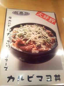 ソラトブ ドンブリ in 愛知-カルビマヨ丼