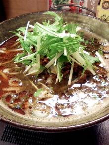 ソラトブ ドンブリ in 愛知-黒ごま味噌担々麺(¥880)