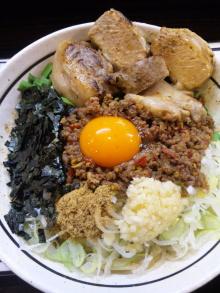 ソラトブ ドンブリ in 愛知-台湾まぜそば(¥750)+ド肉(¥300)