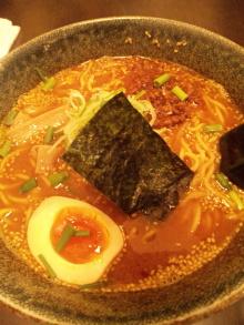 ソラトブ ドンブリ in 愛知-中華そば・辛味噌(¥880)
