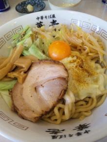 ソラトブ ドンブリ in 愛知-まぜそば 3(サード)<マー油仕立て)(¥800)