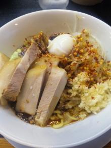 ソラトブ ドンブリ in 愛知-八丁味噌まぜそば(¥800)