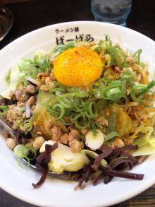 ソラトブ ドンブリ in 愛知-八丁味噌まぜそば(¥750)