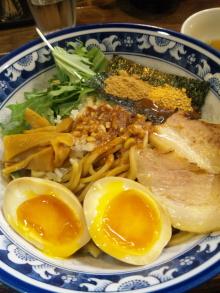 ソラトブ ドンブリ in 愛知-魚介油そば(¥800)