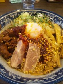 ソラトブ ドンブリ in 愛知-油そば(¥680)