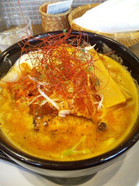 ソラトブ ドンブリ in 愛知-チゲ味噌とんこつ(¥950)