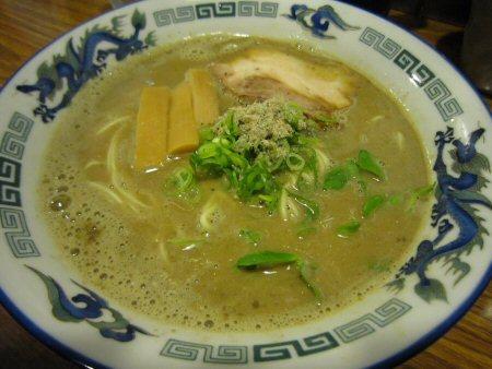 ソラトブ ドンブリ in 愛知-濃厚鶏煮干しそば(¥750)