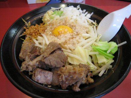 ソラトブ ドンブリ in 愛知-まぜそばミドル(¥880)
