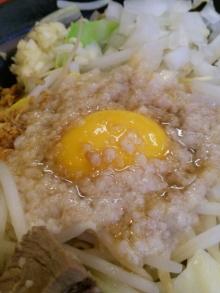 ソラトブ ドンブリ in 愛知-背脂と卵黄