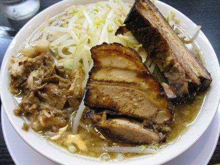 ソラトブ ドンブリ in 愛知-ラーメン小盛(¥690)+魚粉(¥60)