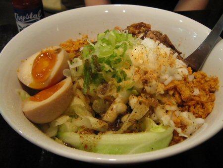 ソラトブ ドンブリ in 愛知-まぜそば(¥700)
