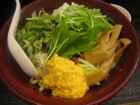 ソラトブ ドンブリ in 愛知-八丁味噌まぜそば(¥830)