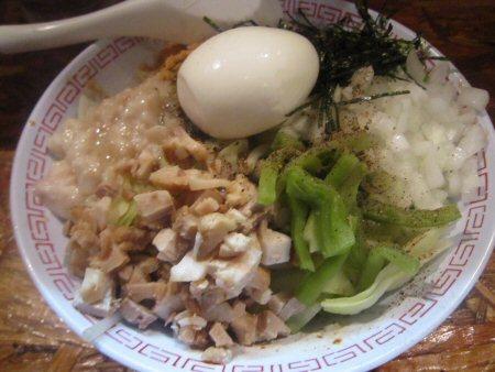 ソラトブ ドンブリ in 愛知-汁なし男そば(¥850)