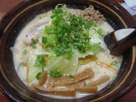 ソラトブ ドンブリ in 愛知-野菜らーめん(¥650)