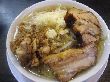 ソラトブ ドンブリ in 愛知-小盛(¥690)+煮干し油+魚粉(¥60)