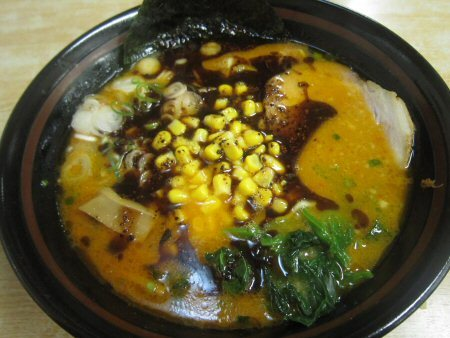 ソラトブ ドンブリ in 愛知-黒タンタン麺(?)