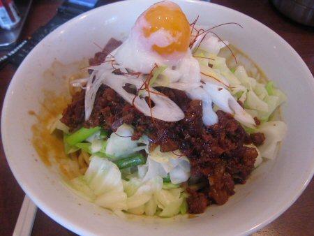 ソラトブ ドンブリ in 愛知-汁なしタンタン麺(¥800)