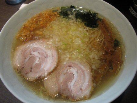 ソラトブ ドンブリ in 愛知-塩らぁ麺(¥850)