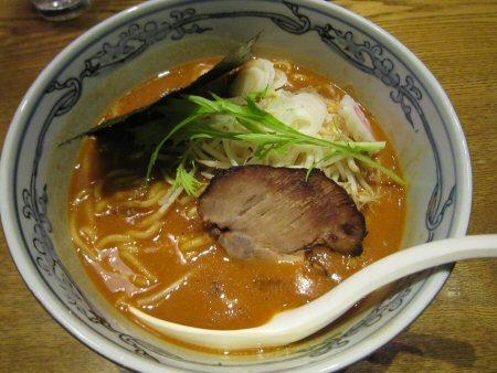 ソラトブ ドンブリ in 愛知-男 味噌にぼしらーめん(¥750)