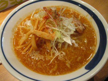 ソラトブ ドンブリ in 愛知-味噌らぁ麺江戸甘style(¥750)