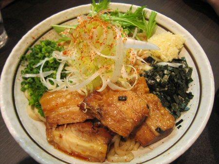 ソラトブ ドンブリ in 愛知-トロ肉のせまぜそば(¥850)