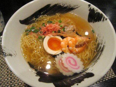 ソラトブ ドンブリ in 愛知-海老そば・細麺(¥750)