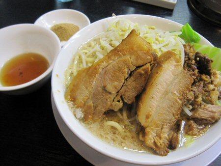 ソラトブ ドンブリ in 愛知-小盛り(¥690)+魚粉(¥60)+煮干し油(¥80)