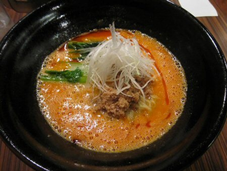 ソラトブ ドンブリ in 愛知-担担麺(¥800)