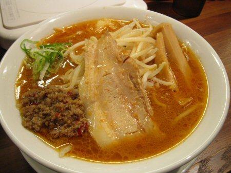 ソラトブ ドンブリ in 愛知-濃厚味噌ラーメン(¥750)