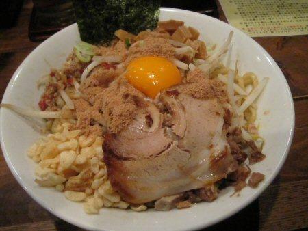 ソラトブ ドンブリ in 愛知-まぜそば・並(¥800)