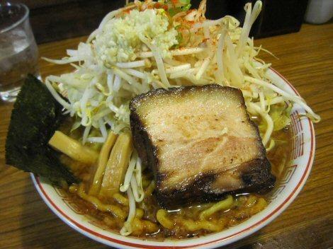 ソラトブ ドンブリ in 愛知-がっつりラーメン醤油(¥850)+野菜マシ(¥50)