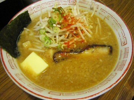 ソラトブ ドンブリ in 愛知-味噌バターラーメン(¥820)