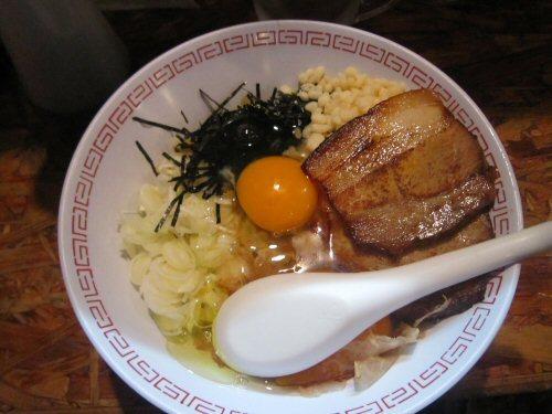 ソラトブ ドンブリ in 愛知-かま玉まぜそば(¥700)