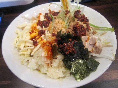 ソラトブ ドンブリ in 愛知-チーズまぜそば・並(¥850)