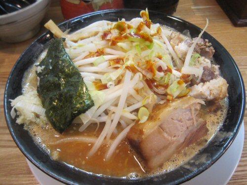 ソラトブ ドンブリ in 愛知-濃厚味噌とんこつ・小(¥750)