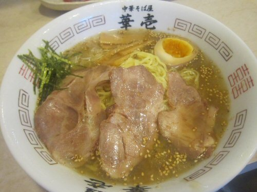 ソラトブ ドンブリ in 愛知-冷やしそば・白醤油(¥800)