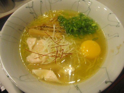 ソラトブ ドンブリ in 愛知-鶏坊主ラーメン・塩(¥700)