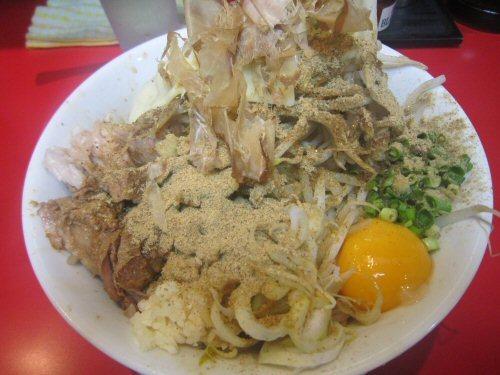 ソラトブ ドンブリ in 愛知-まぜそば(¥780)