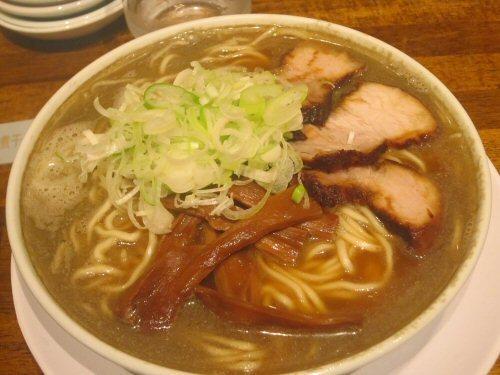 ソラトブ ドンブリ in 愛知-バリ煮干そば(¥750)