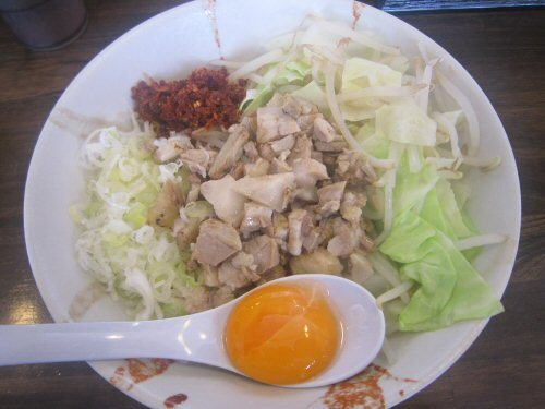 ソラトブ ドンブリ in 愛知-まぜそば卵入り(¥700)