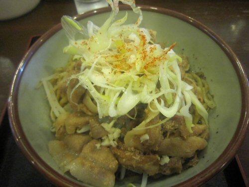 ソラトブ ドンブリ in 愛知-肉胡椒まぜそば・並(¥800)