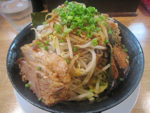 ソラトブ ドンブリ in 愛知-克そば・小(¥700)+魚粉(¥50)