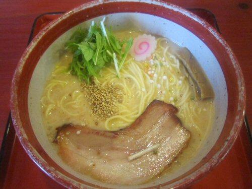 ソラトブ ドンブリ in 愛知-夏の冷製スープ 汐の麺(¥980)