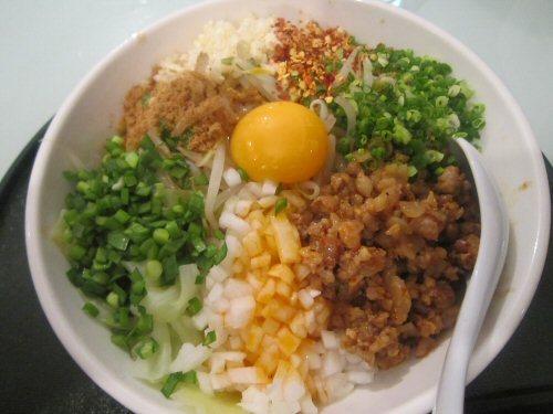 ソラトブ ドンブリ in 愛知-台湾まぜぎん(¥780)
