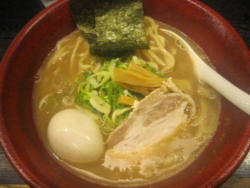 ソラトブ ドンブリ in 愛知-一輝そば(¥750)+味玉